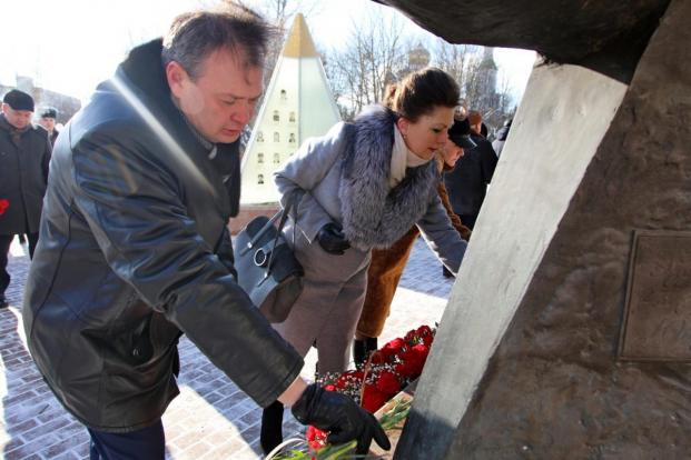 В Бобруйске почтили память воинов-интернационалистов (февраль, 2021)