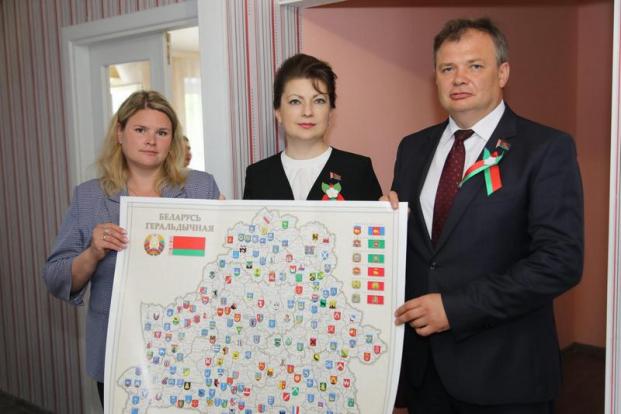 Открытие нового детского дома семейного типа в Бобруйске (июль, 2020)