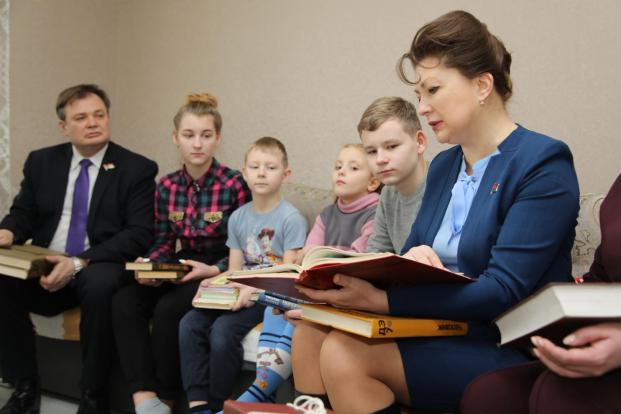 Посещение детского дома семейного типа Парфеновых в Бобруйске (февраль,2020)